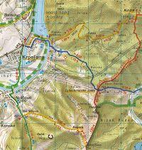Mapa oblasti